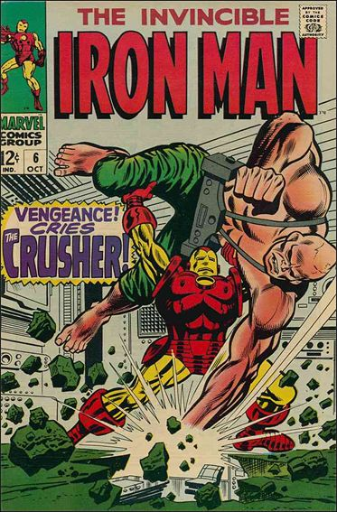 Iron Man (1968) 6-A by Marvel