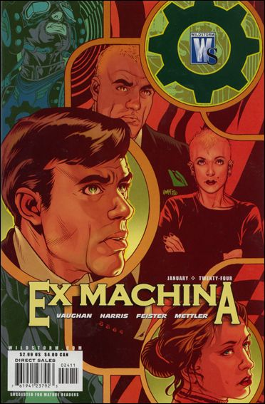 Ex Machina 24-A by WildStorm