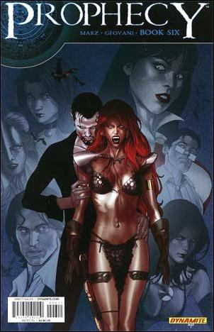 Prophecy 6-A by Dynamite Entertainment