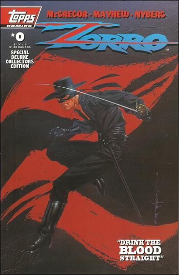 Zorro (1993) 0-A by Topps