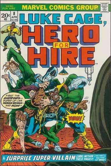 Hero for Hire 8-A by Marvel