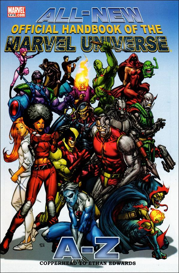 All-New Official Handbook of the Marvel Universe A to Z 3-A by Marvel
