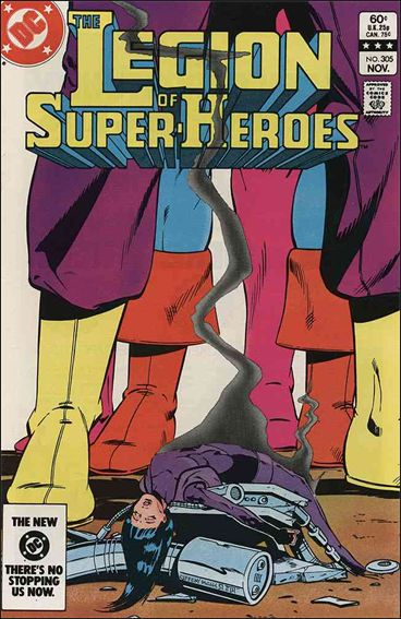 Legion of Super-Heroes (1980) 305-A by DC