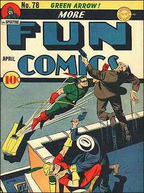 More Fun Comics 78-A by DC