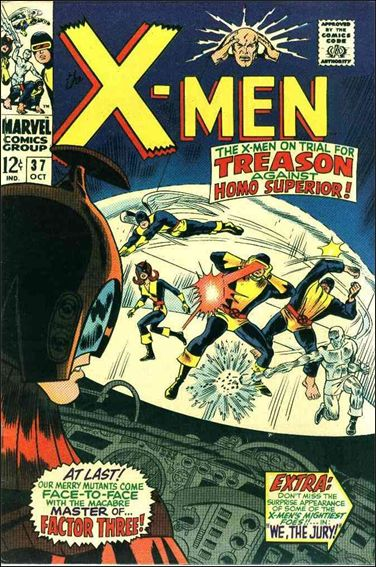 X-Men (1963) 37-A by Marvel