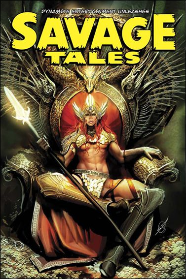 Savage Tales (2007) 4-A by Dynamite Entertainment
