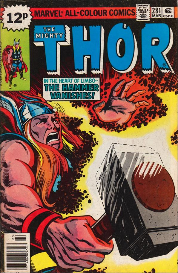 Thor (1966) 281-B by Marvel