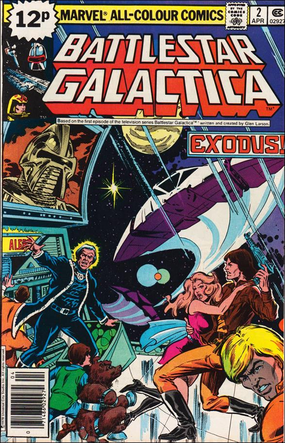 Battlestar Galactica (1979) 2-B by Marvel