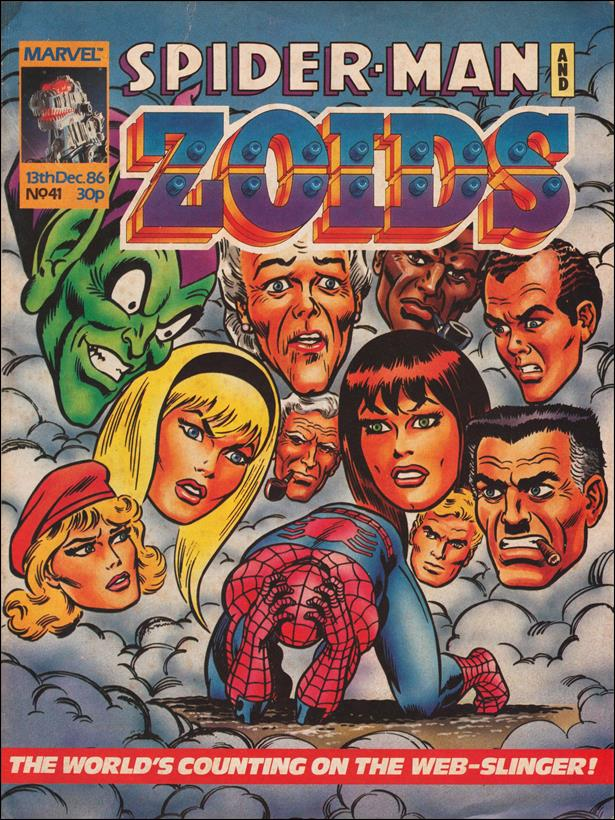 Spider-Man and Zoids (UK) 41-A by Marvel UK