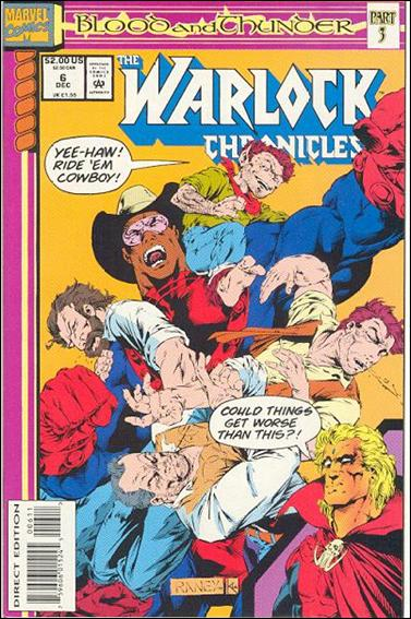 Warlock Chronicles 6-A by Marvel