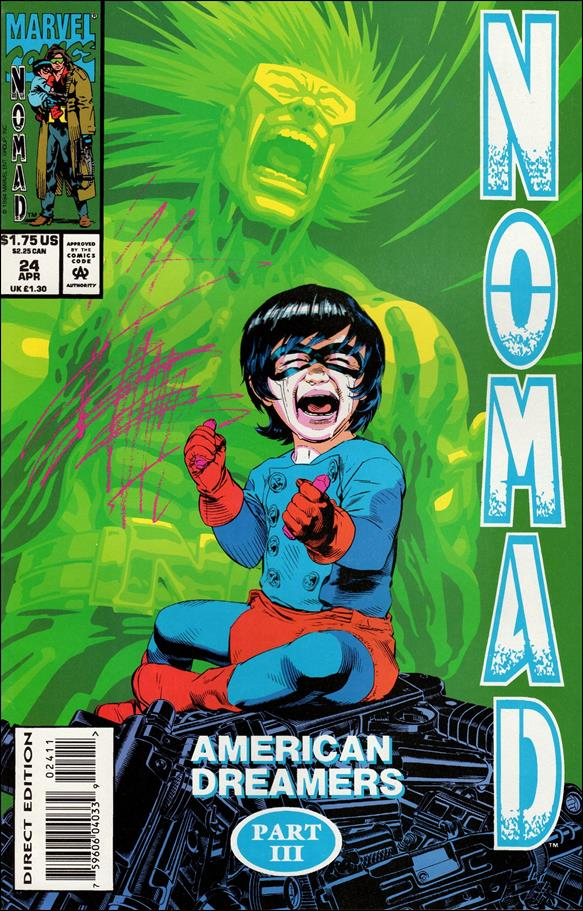 Nomad (1992) 24-A by Marvel