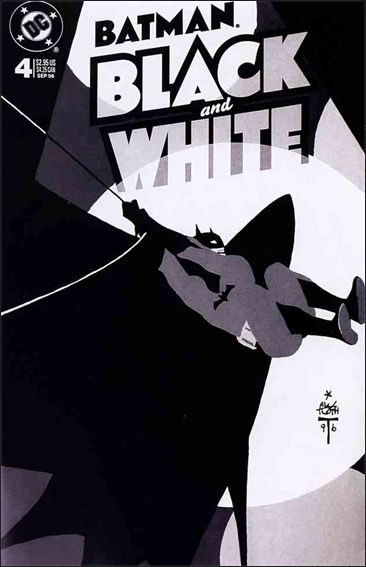 Batman Black and White 4-A by DC
