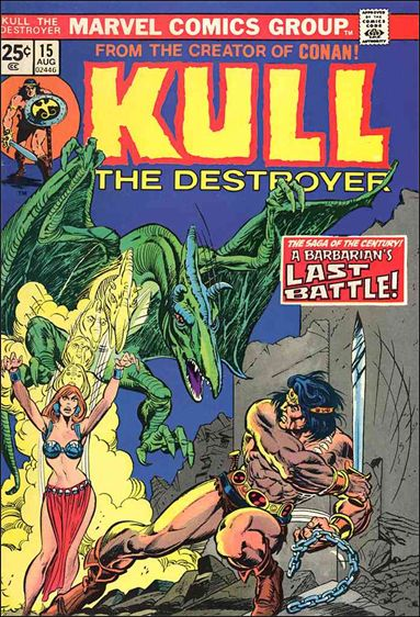 Kull the Destroyer 15-A by Marvel