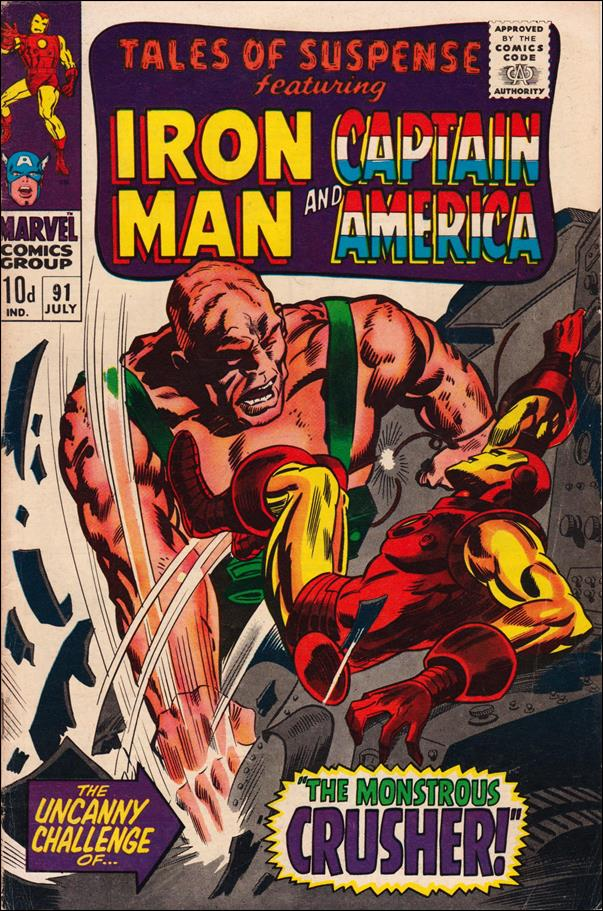 Tales of Suspense (1959) 91-B by Marvel