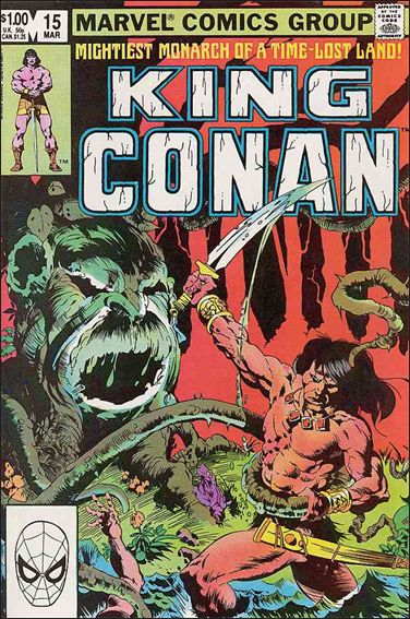 King Conan 15-A by Marvel