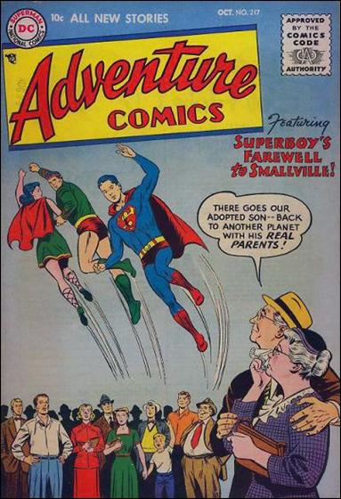 Adventure Comics (1938) 217-A by DC