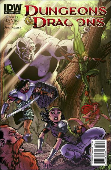 Dungeons & Dragons 9-B by IDW