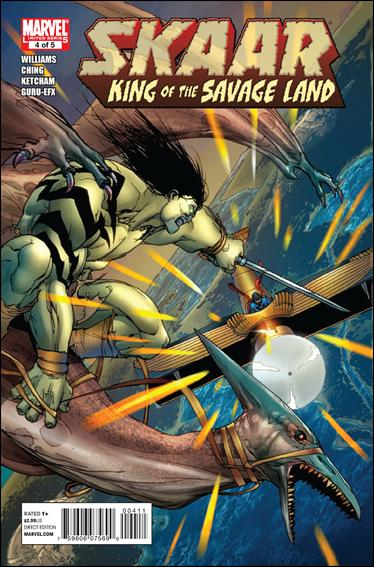 Skaar: King of the Savage Land 4-A by Marvel
