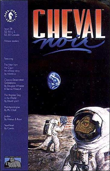 Cheval Noir 28-A by Dark Horse