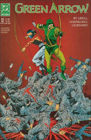Green Arrow (1988) 12-A by DC