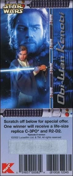 Star Wars: Episode II Attack of the Clones K-Mart Instant Win Scratch Offs (Promo) nn4-A by Lucasfilm Ltd.
