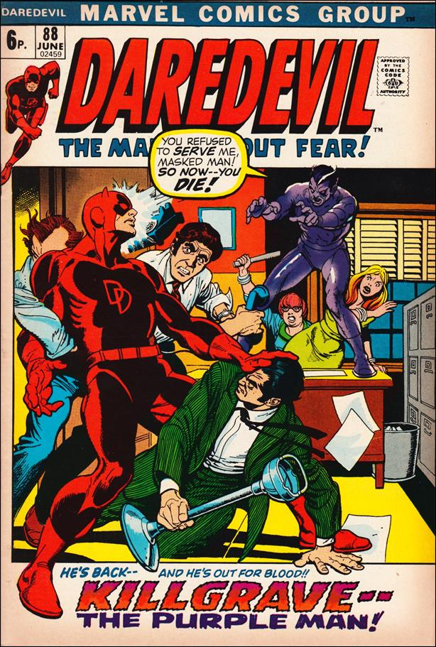 Daredevil (1964) 88-B by Marvel