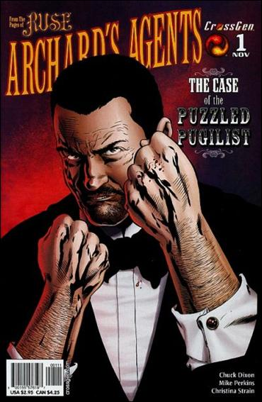 Archard's Agents: The Case of the Puzzled Pugilist 1-A by CrossGen