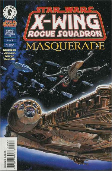 Star Wars: X-Wing Rogue Squadron 28-A by Dark Horse