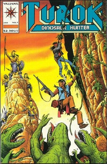Turok: Dinosaur Hunter (1993) 7-A by Valiant