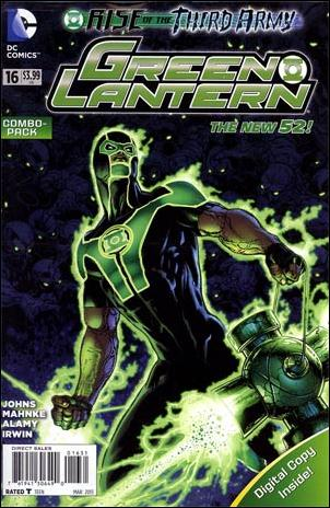 Green Lantern (2011) 16-B by DC