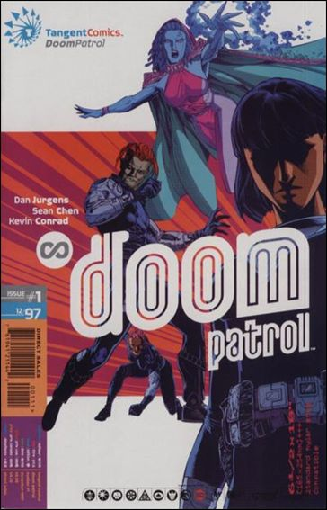 Tangent Comics/Doom Patrol 1-A by DC