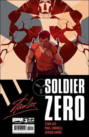Soldier Zero 3-B by Boom! Studios