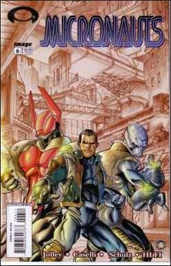 Micronauts (2002) 6-A by Image