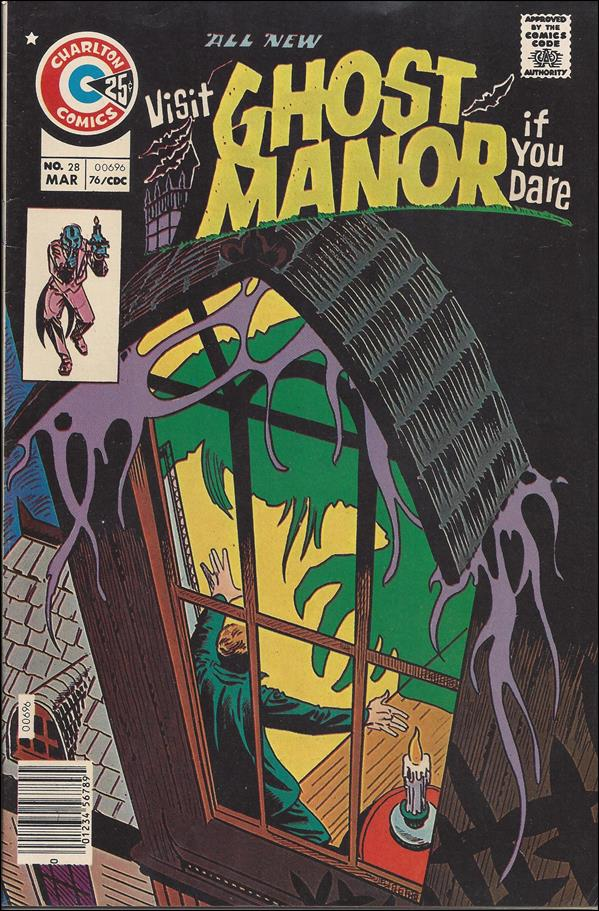 Ghost Manor (1971) 28-A by Charlton