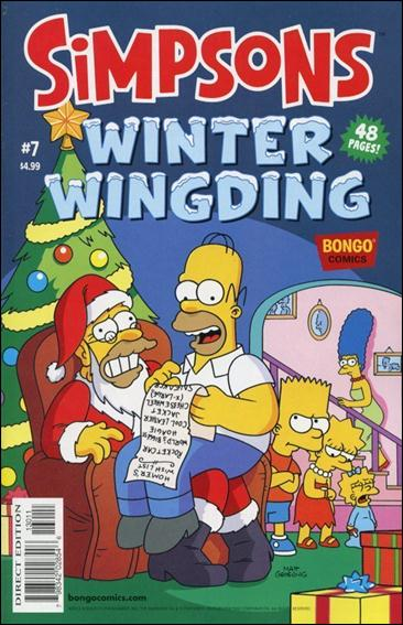 Simpsons Winter Wing Ding 7-A by Bongo