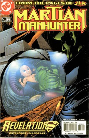 Martian Manhunter (1998) 20-A by DC
