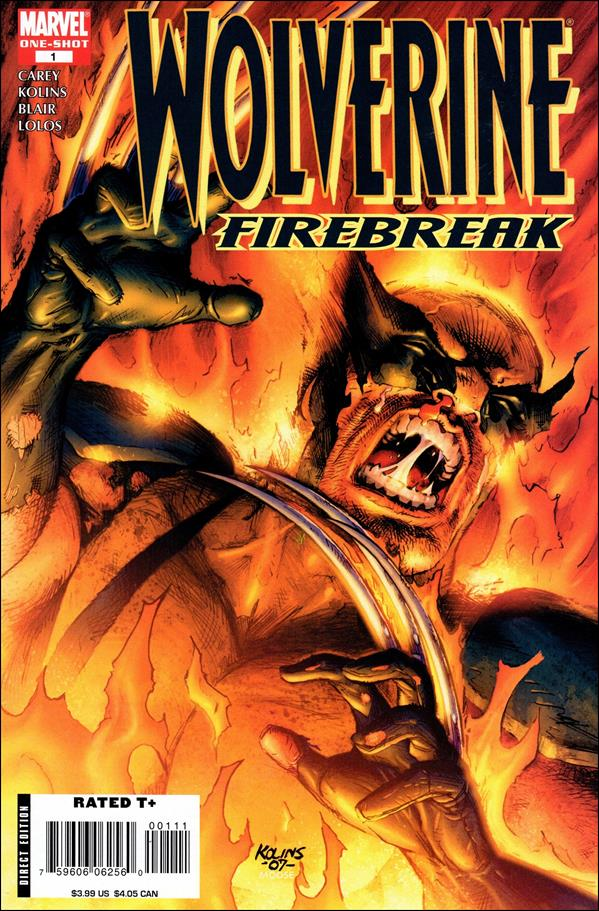 Wolverine Special: Firebreak One-Shot 1-A by Marvel