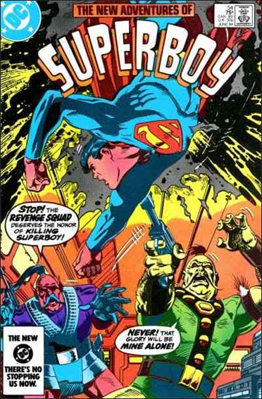 New Adventures of Superboy 54-A by DC