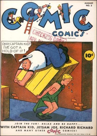 Comic Comics 5-A by Fawcett