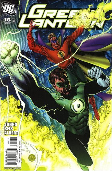 Green Lantern (2005) 16-A by DC