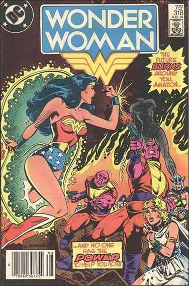Wonder Woman (1942) 318-A by DC