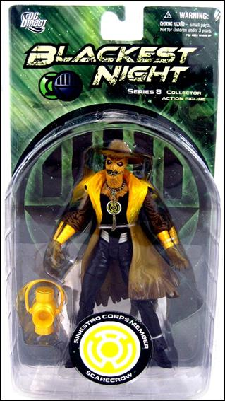 Blackest Night (Series 8) Sinestro Corps Member Scarecrow by DC Direct