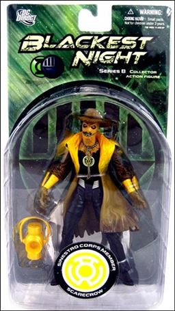 Blackest Night (Series 8) Sinestro Corps Member Scarecrow