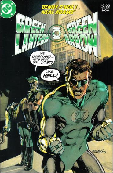Green Lantern/Green Arrow 6-A by DC