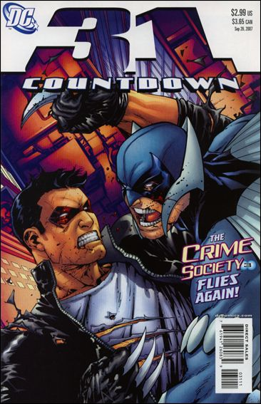 Countdown (2007) 31-A by DC