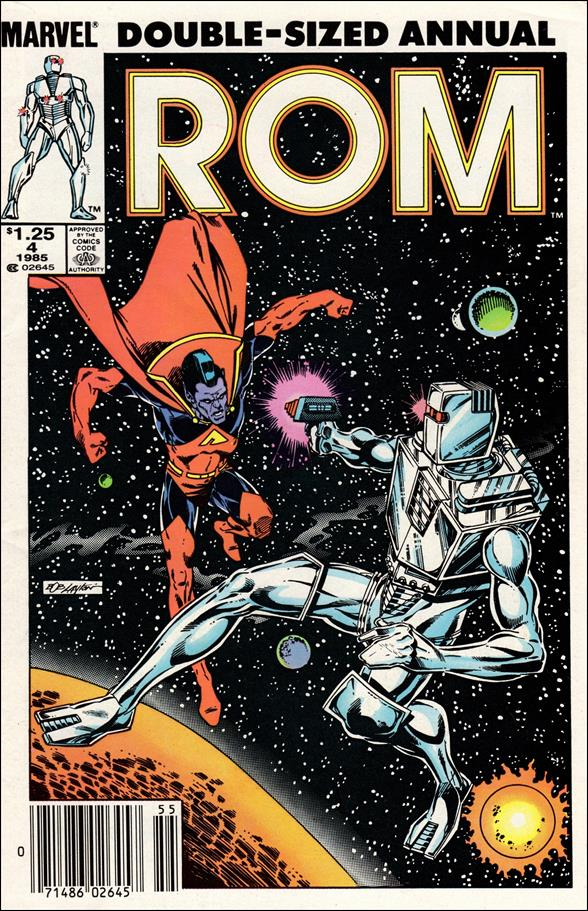 ROM Annual (1982) 4-A by Marvel