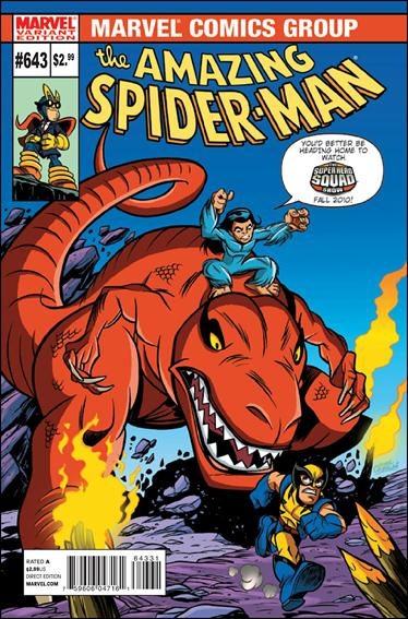Amazing Spider-Man (1963) 643-B by Marvel