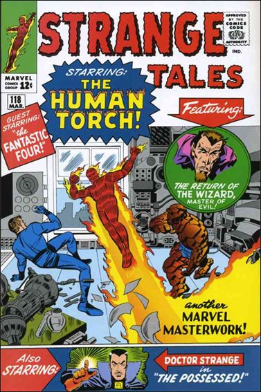 Strange Tales (1951) 118-A by Marvel