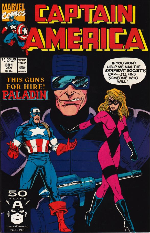 Captain America (1968) 381-A by Marvel