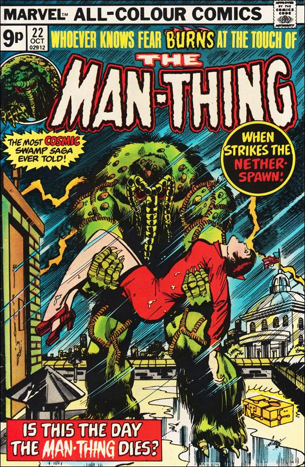 Man-Thing (1974) 22-B by Marvel